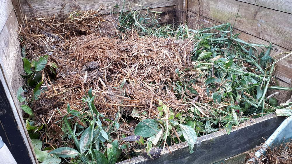Aim for a 'hot' compost heap